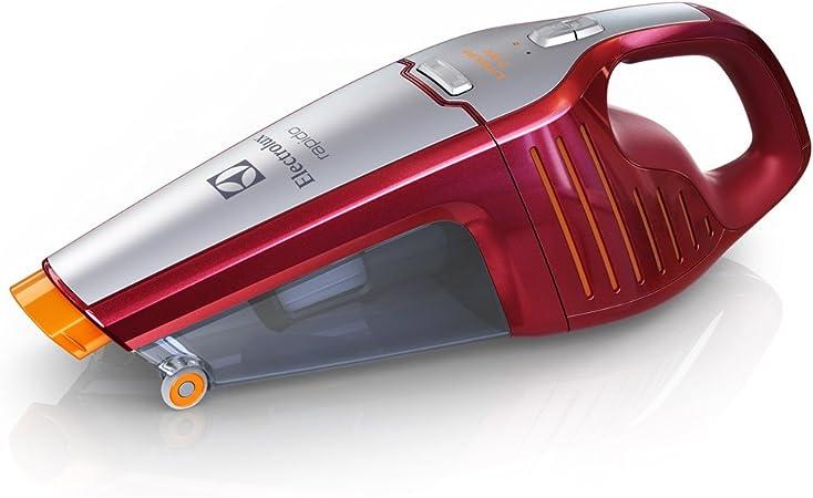 Electrolux Rápido ZB6106 con Batería De Litio De 7,2 V ZB6106-Aspirador de Mano 7.2 V, 0.5 litros, 78 Decibelios, Rojo sandía metalizado: Amazon.es: Hogar