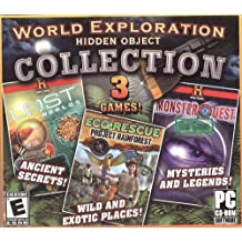Hidden Object Collection (Lost Worlds / EcoRescue Project Rainforest / Monster Quest The Game)