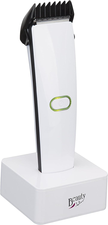 Jata Cortefácil MP38B - Sin cable, Recargable, 4 guías de corte, Cabezal extraíble, Cuchillas de alta resistencia, Incluye accesorios,