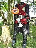 Lifesize Headless Horseman Display Halloween Prop Lights Up Makes Sounds