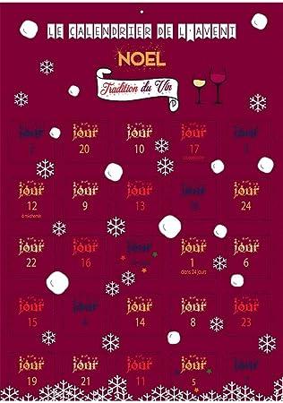 Calendrier De Lavent Humour.Calendrier De L Avent Noel Special Tradition Du Vin