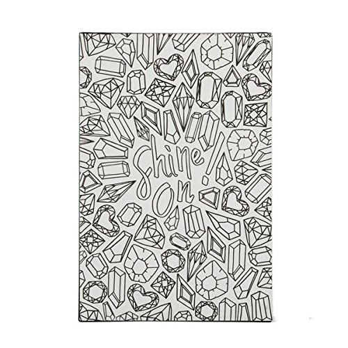 DCI Color Joy Shine On Art Block, Coloring Products, DIY Crafts, Gemstone Pattern, Ready to Display on Wall or Shelf, 4 x 7 x .75 , Great for kids and adults alike
