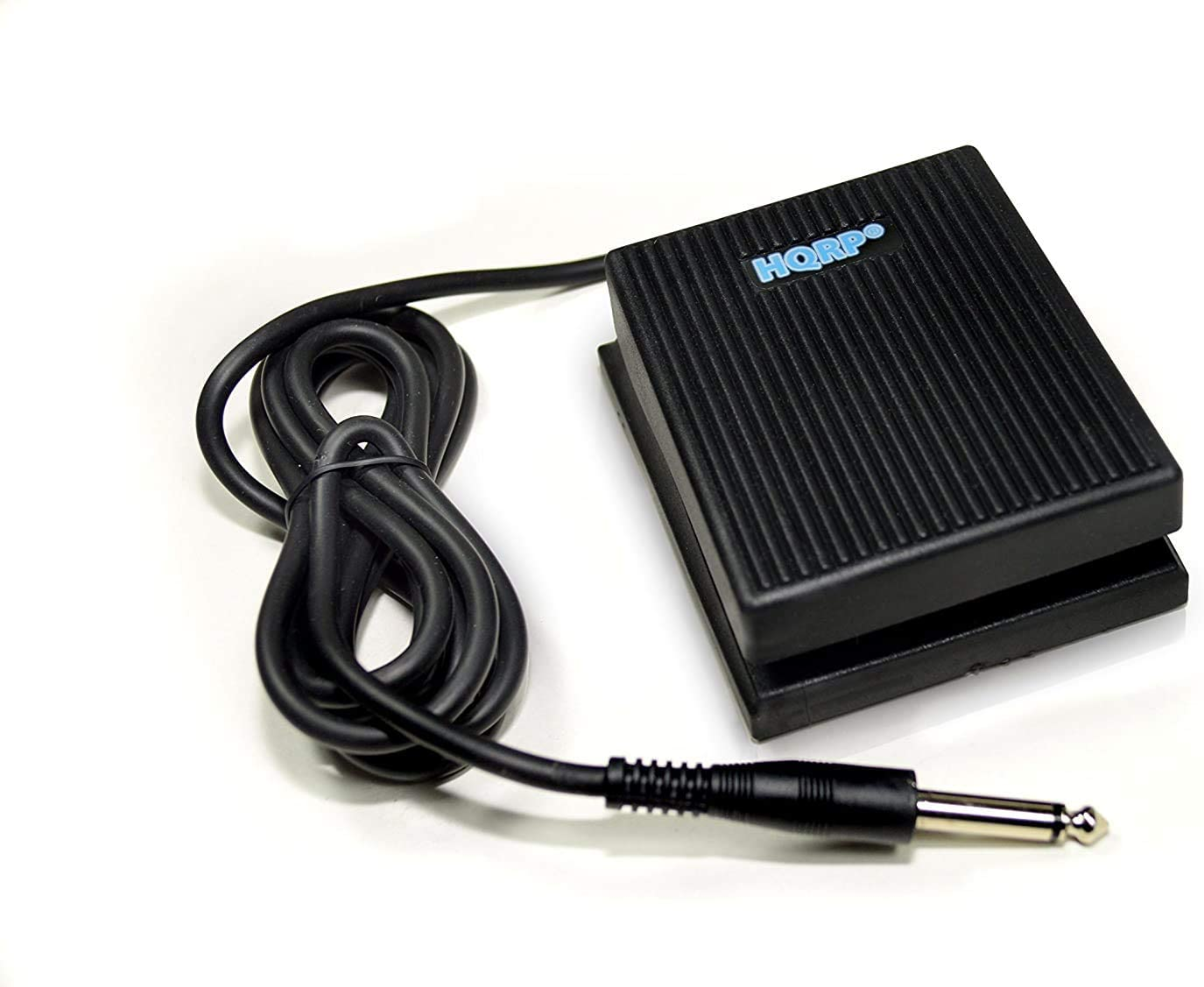 HQRP Pedal universal de sustain tipo interruptor de pie para Yamaha/Casio/Roland/M-Audio/Korg/Kurzweil. Teclados digitales