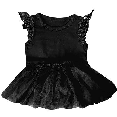 ab54665ba Kaiki Baby Girl Romper Jumpsuit Tutu Dress