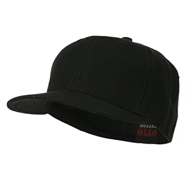 3155bc3cca5 Pro Style Wool Fitted Cap - Black at Amazon Men s Clothing store