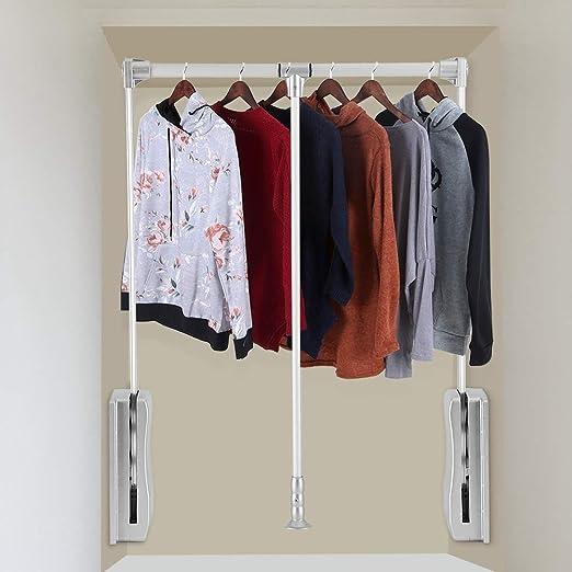 Amazon Com Gototop Pull Down Closet Rod Wardrobe Hanger For