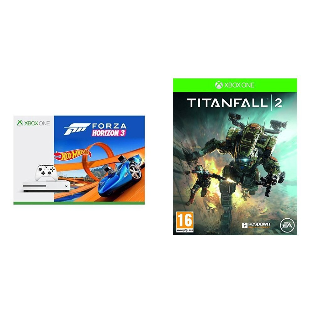 Xbox One S - Consola 500 GB + Forza Horizon 3 + Hot Wheels + ...