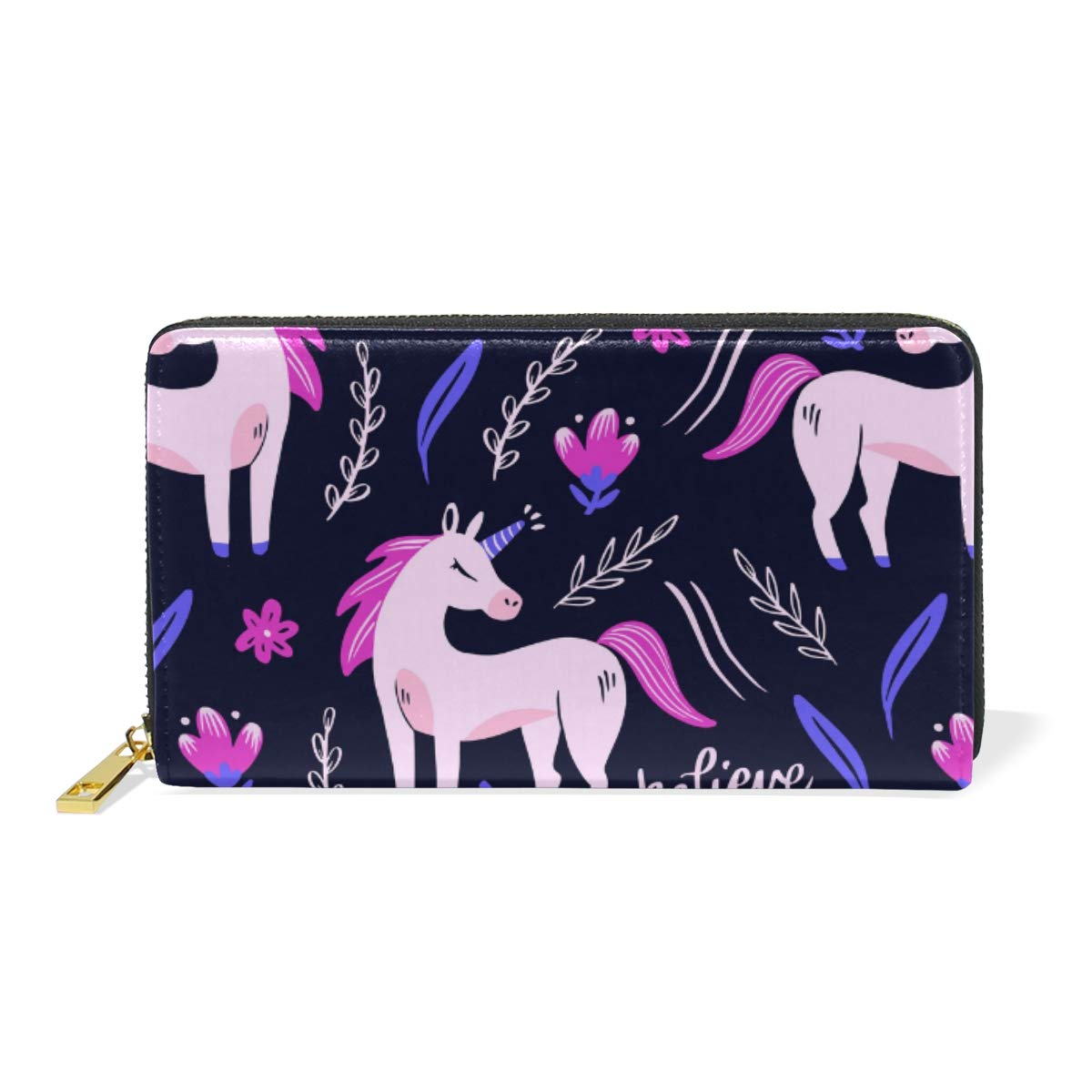 Women Wallet Coin Purse Phone Clutch Pouch Cash Bag,Cute Tiger Pattern Female Girl Card Change Holder Organizer Storage Key Hold Elegant Handbag Gift