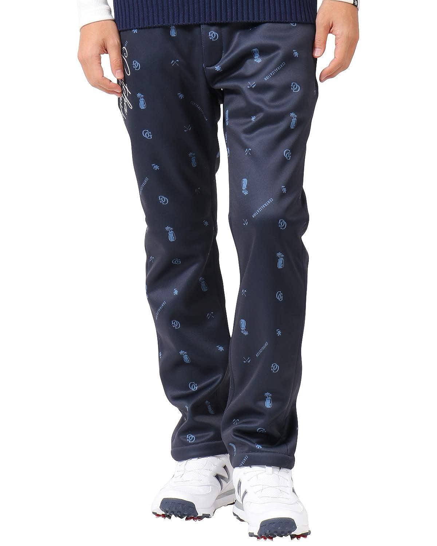 [ガッチャ ゴルフ] GOTCHA GOLF パンツ 撥水 ボンディング フリース ロングパンツ 183GG1808 B07JQH3JWQ XXX-Large|ネイビー ネイビー XXX-Large