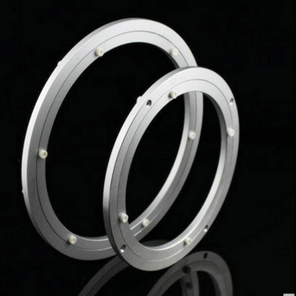 rodamientos de rodillos giratorios de aluminio resistente mesa giratoria redonda con bandeja giratoria 10 In Rodamiento de plataforma giratoria circular DDOQ