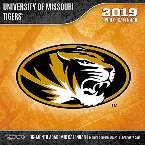 2019 Missouri Tigers Wall Calendar, Missouri Tigers by Turner Licensing ()