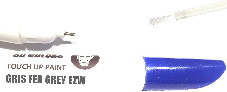 Sd Colors New Touch Up Paint Gris Fer Grey Ezw Repair Scratches 12 Ml Colour Code Ezw Colour Auto