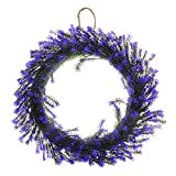 Saim Home Floral Decor Garden Autumn Garland Artificial Plants Front Door Window Hanging Fake Flower Christmas Wreath 15.5-Inch Diameter