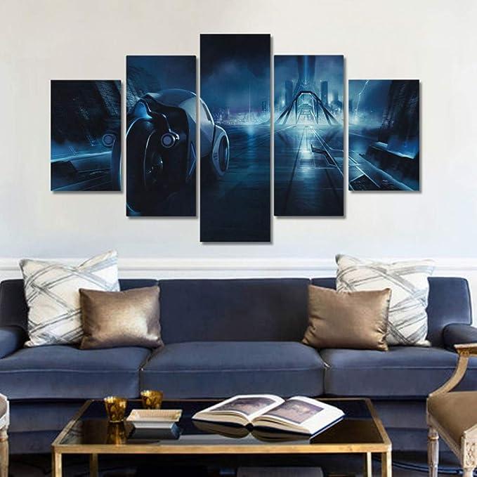 Tron legacy film modern design Canvas Wall Art Picture Print