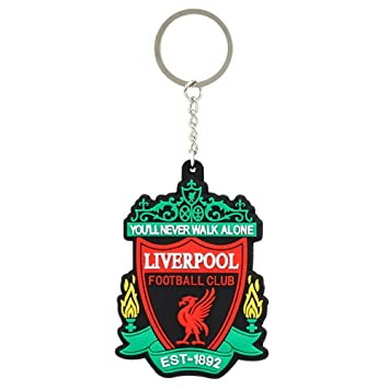 GCT Single Sided Liverpool Football Club Sports Logo Rubber Keychain for  Car Bike Men Women Keyring  Amazon.in  Bags 9d259296b5