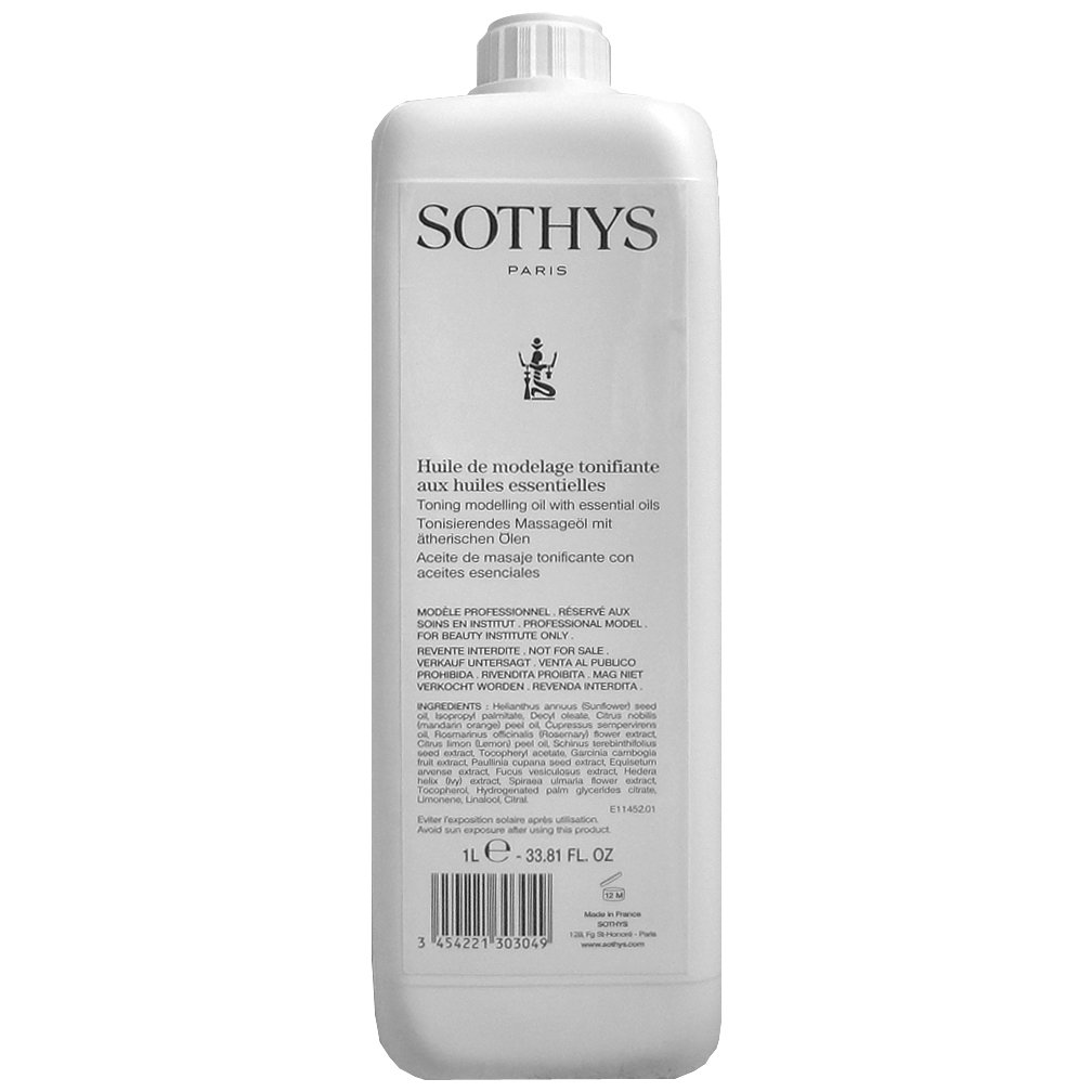 Sothys Professional Toning Modeling Oil wth Essential Oils - 33.81 oz by Sothys (Image #1)