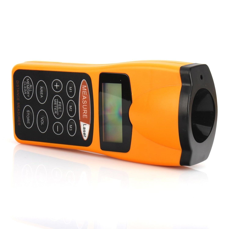 Medidor láser ultrasónico - Multifunción de distancias - Metro láser ultrasónico: Amazon.es: Industria, empresas y ciencia