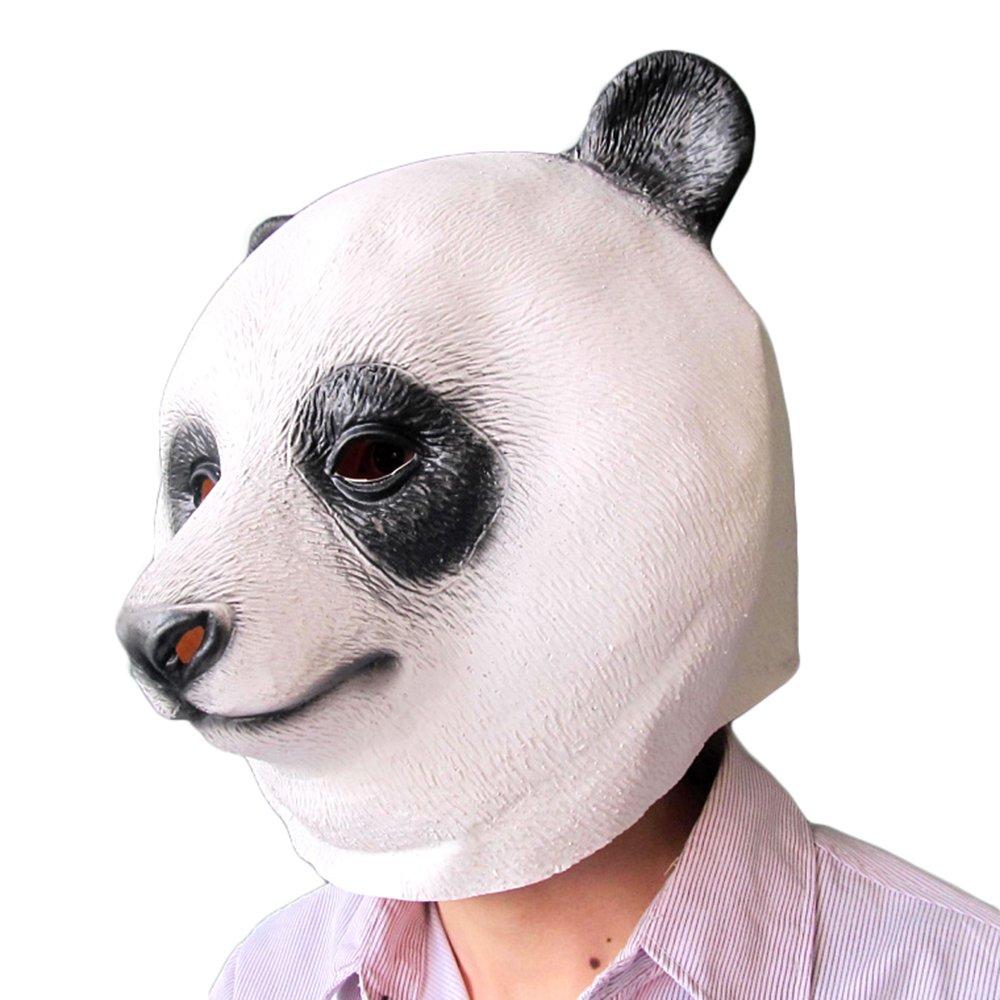 BestOfferBuy Realista Máscara Cubre-Cabeza de Oso Panda Diferente Látex Fiestas de Disfraces Cosplay: Amazon.es: Juguetes y juegos