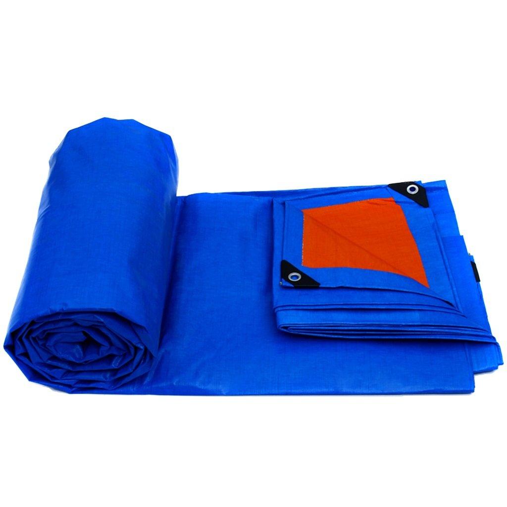 青の軽さ、防水屋根のカーブガーデン防雨カバー、床布、キャンプでの防風防潮 (サイズ さいず : 2MX1.5M/6FTX5FT) B07FPCWKX7 2MX1.5M/6FTX5FT  2MX1.5M/6FTX5FT