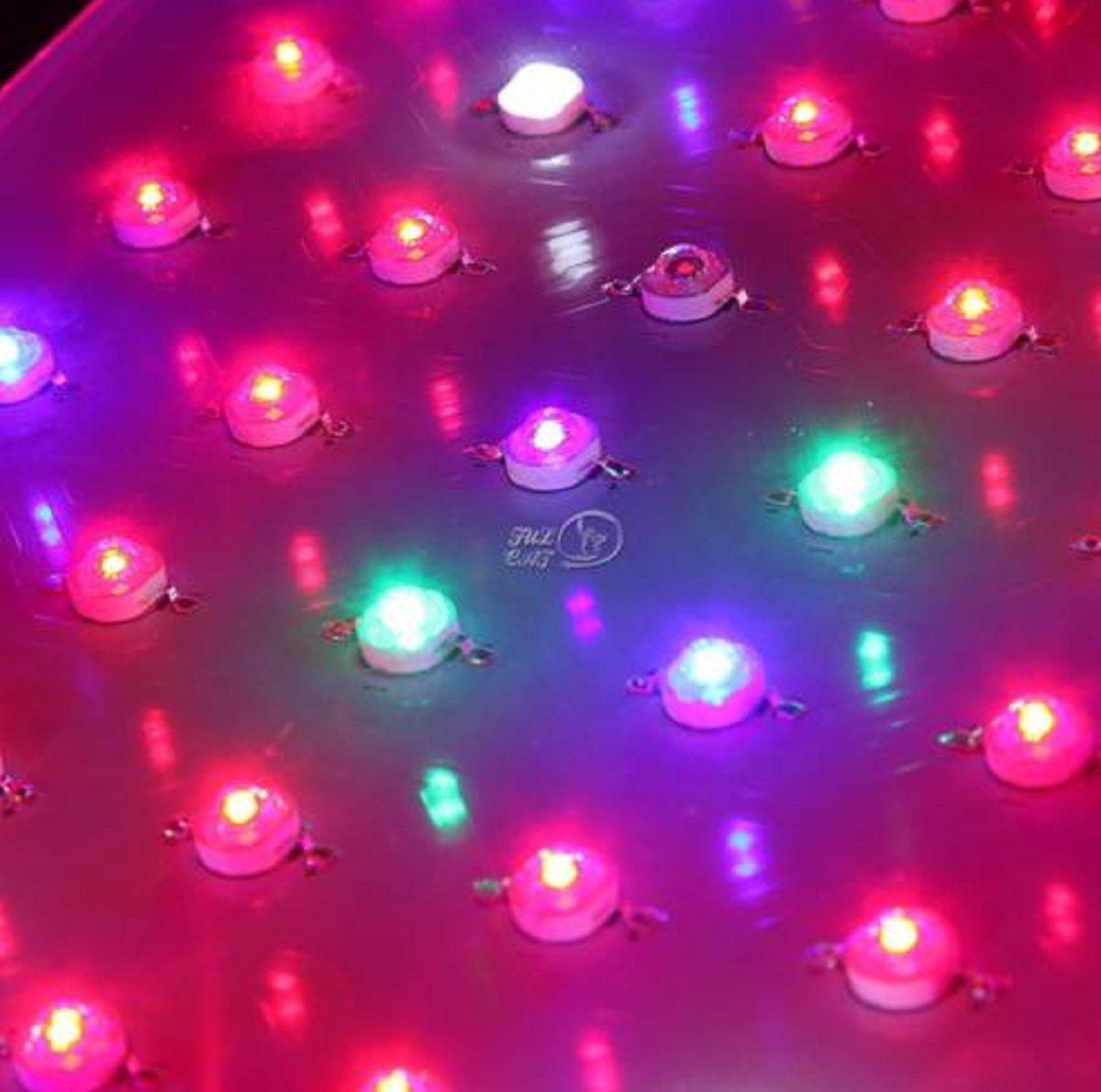 USA Premium Store 300W LED Grow Light Full Spectrum Panel Lamp for Veg Flower Garden Indoor Plant by USA Premium Store (Image #2)