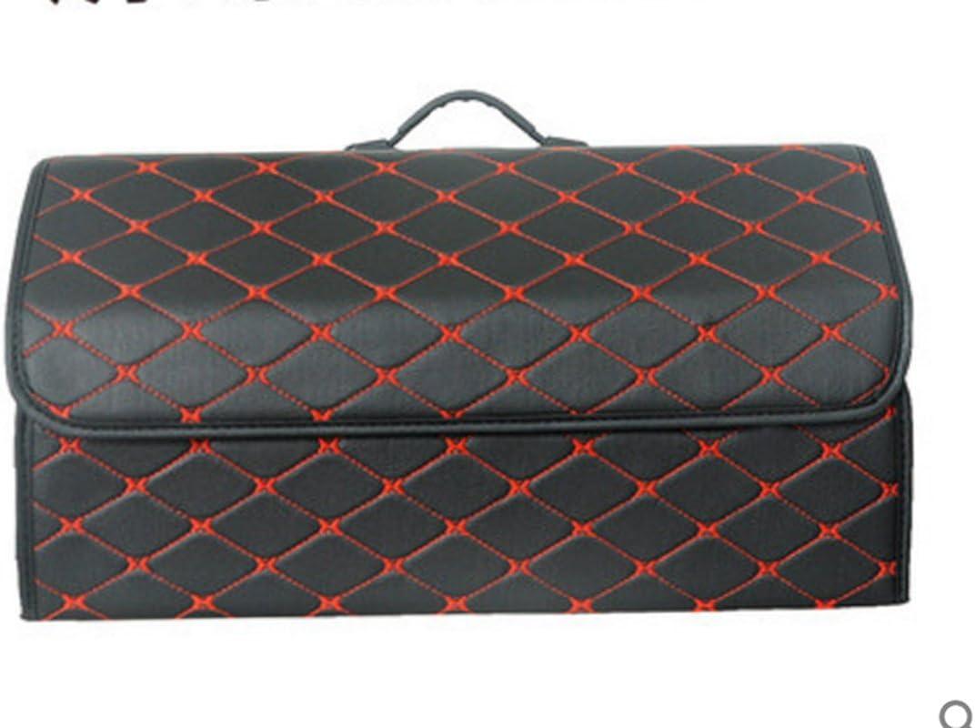 Worth-Mats Popular product Car Trunk Organizer List price Lea Foldable PU Storage