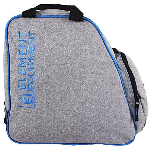 Element Equipment Boot Bag Snowboard Ski Boot Bag Pack Heather Grey/Blue