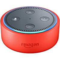 Echo Dot Kids Edition, an Echo designed for kids - punch red case