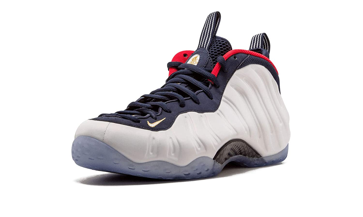 brand new ce345 aa71d Nike Air Foamposite One PRM USA Obsidian Olympic 575420-400 Size 12.5