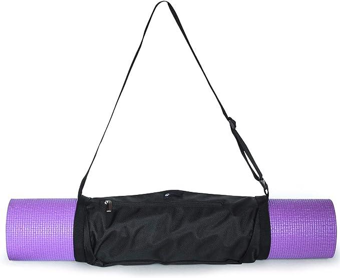 1PC Yoga Mat Strap Stretch Adjustable Yoga Mat Carrier Shoulder Strap Yoga Be/_yu