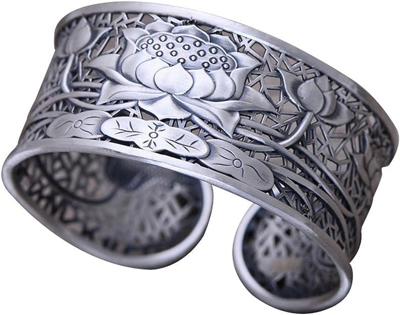 Vintage Sterling Silver Bangle Bracelet Etched Eternity Mesh Design Setting Art Deco Style Layering Piece      #2765