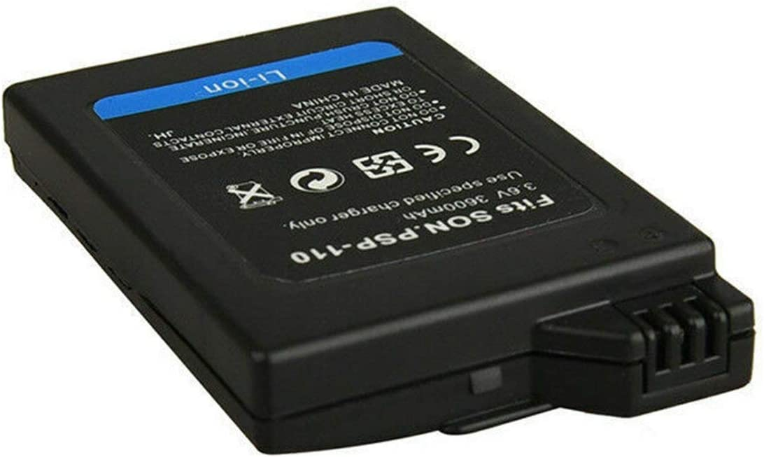1001 Batterie Rechargeable Tree-on-Life 3.6V 3600mAh Batterie Rechargeable de Remplacement pour Sony PSP PSP1000
