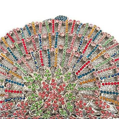 SUNNY KEY-Clutches@Damen Unterarmtasche PU Metall Sommer Winter Ganzjährig Frühling Herbst Formell Veranstaltung / Fest Hochzeit Büro & Karriere
