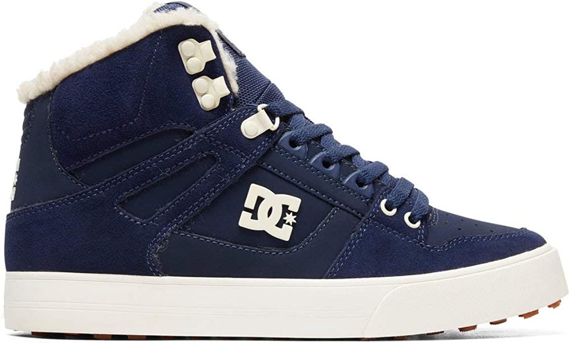 DC Shoes Pure High WC Sneakers High Tops Herren Größe 38 bis 52 Marineblau