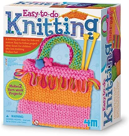 4M 68522 Easy to Do Knitting Creative Set