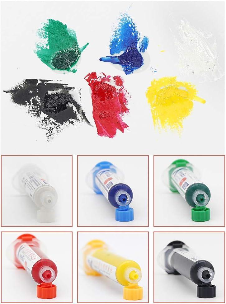 Lixiaoxuty M/áscara de soldar UV PCB BGA con barniz anticorrosivo para evitar fugas de aceite y soldador