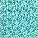 Karen Foster 64888 Design 25 Sheets Scrapbooking Paper, 12'' x 12'', Water Wave