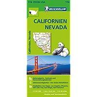 Michelin Californien Nevada: Straßen- und Tourismuskarte  1:1.267.200 (MICHELIN Zoomkarten)