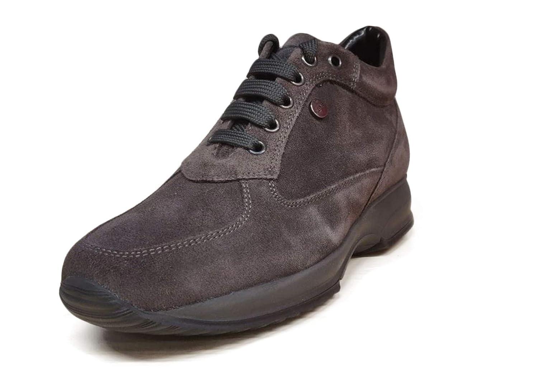 Keys Scarpe Donna Sneaker camoscio Grigio 7003 GREY: Amazon