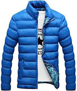 Holure Mens Winter Lightweight Down Puffer Jacket Warm Parka Outwear Thick Casual Coat