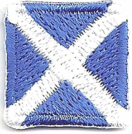 """5//8/"""" International Maritime Signal Flag Number 0 Zero Embroidery Patch"""