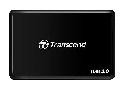 Transcend RDF2 - Lector de Tarjetas, conector USB tipo A, ranura CFast (CFast 2.0/1.1/1.0)