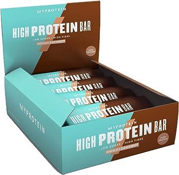 MyProtein High Bar Barritas de Proteínas, Sabor Chocolate y ...