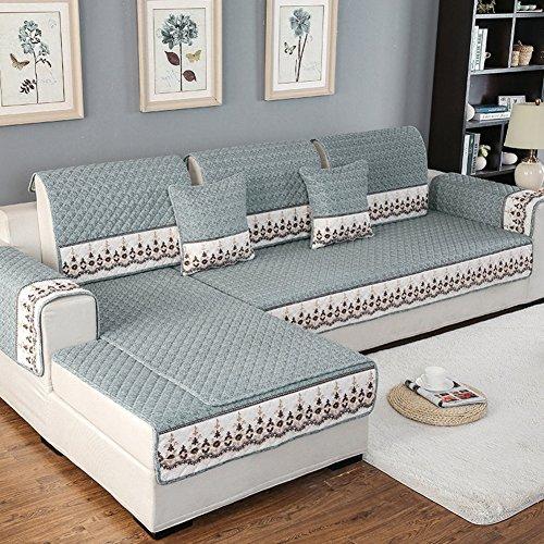 Anti-slip Sofa furniture protector for pet dog All season Plush Sofa throw slipcover Sectional slipcovers l shape U shape Washable Couch cover-1 piece-E 28x28inch(70x70cm)