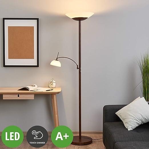dimmer de 'Raiko'con pie táctilTradicionalen Lámpara LED 7Yy6vbfg