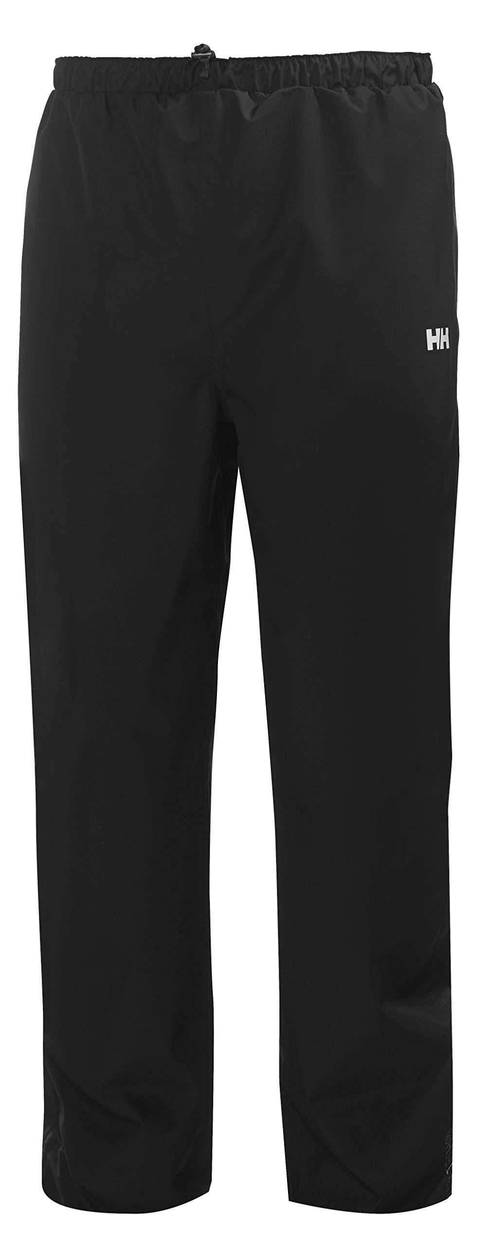 Helly Hansen Men's Seven J Waterproof Windproof Rain Pant, 990 Black, Large by Helly Hansen