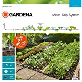 GARDENA 13015 Micro Drip Kit for Flower Beds