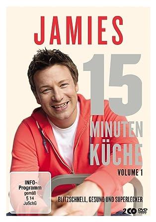 Jamies 15 Minuten Küche Volume 1 2 Dvds Amazonde Jamie Oliver