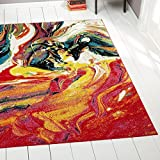 Home Dynamix 212-999 Splash Collection Area Rug, 7'10'' Round, Multi-pink