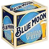 Blue Moon Belgian White Ale, 12 pk, 12 oz bottles, 5.4% ABV