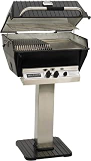 product image for Broilmaster P3-SXN Super Premium Natural Gas Grill On Stainless Steel Patio Post